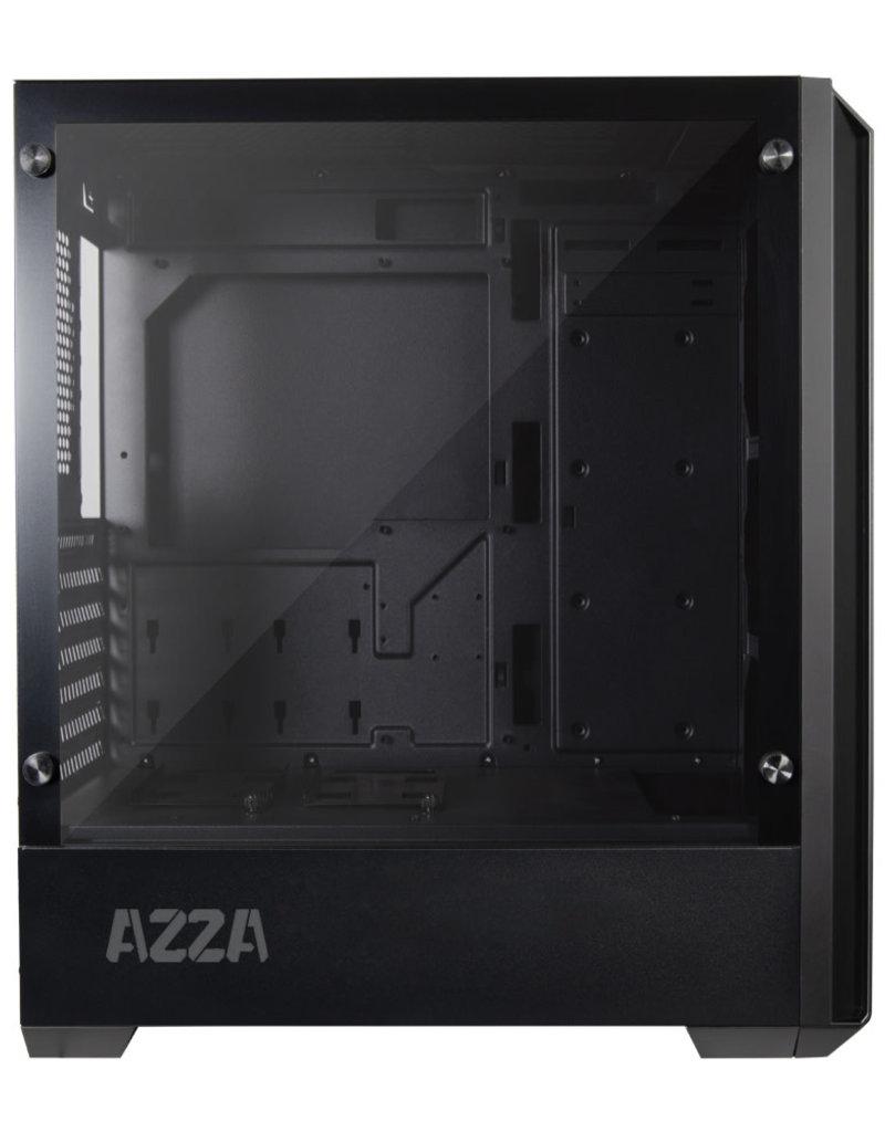 AZZA AZZA Gaming Case MID ATX Raven LED Fan 420F