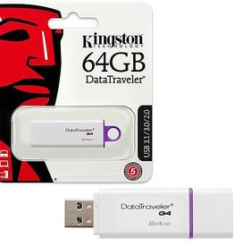 Kingston Kingston 64GB USB 3.1/3.0/2.0 DATA TRAVELER DTIG4/64GB