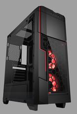 AZZA AZZA Gaming Case MID ATX Crimson LED Fan 211G
