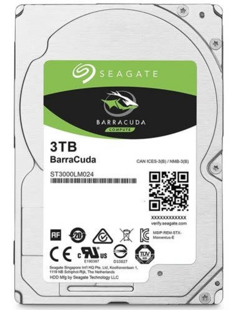 "Seagate Barracuda 3TB 256MB 5400RPM 3.5"" Hard Drive ST3000DM007"