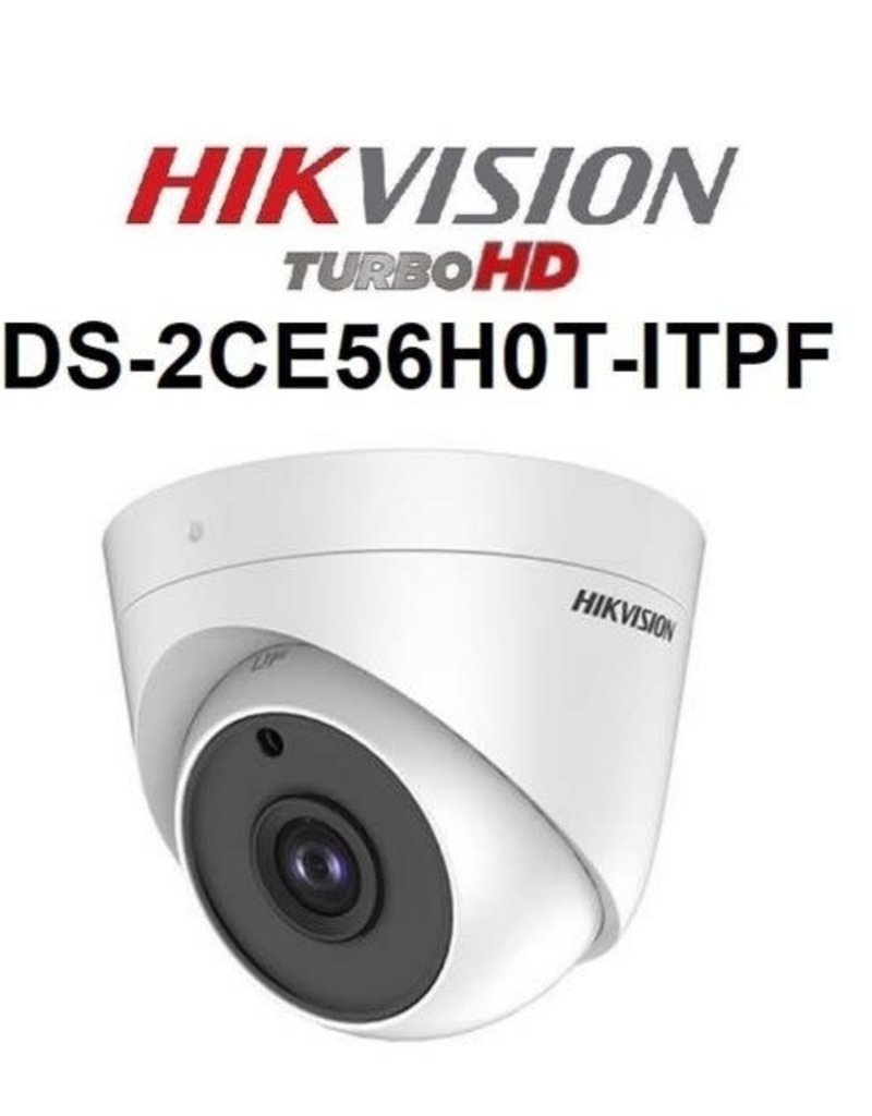 Hikvision DS-2CE56H0T-ITPF 2.8mm 5MP Dome Camera