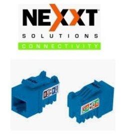 Nexxt Nexxt Keystone Jack Cat 6 Blue PCGKJC6TYRJBL