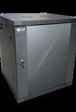 Nexxt Nexxt 18U SKD Wall Mount Cabinet 600mmx450mm PCRWESKD18U45FXBK