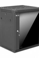 Nexxt Nexxt 12U SKD Wall Mount Cabinet 600mmx550mm PCRWESKD12U55BK
