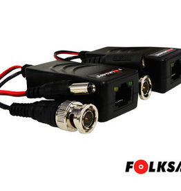 FolkSafe Folksafe RJ-45 Video Balun Passive FS-HD4301VP