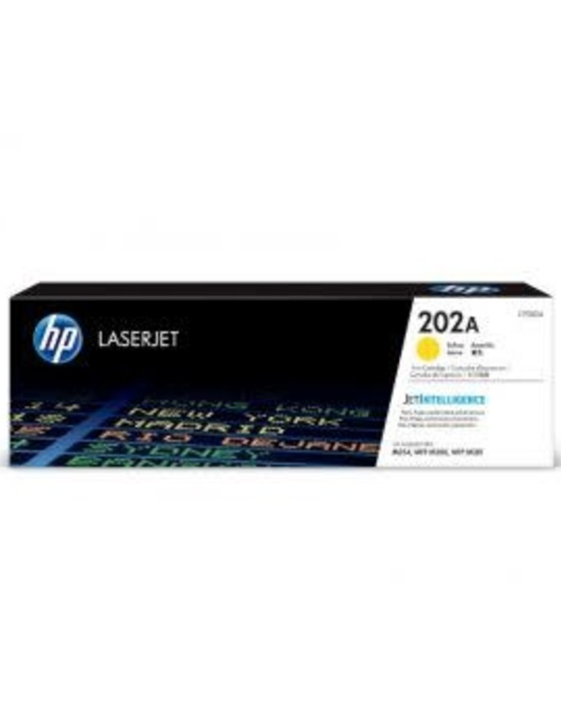 HP HP 202A Yellow Toner Cartridge CF502A