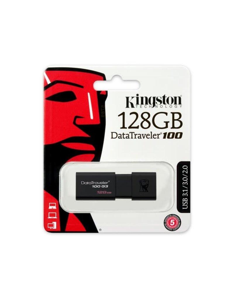 Kingston 128GB Data Traveler USB 3.1 DT100G3/128GB