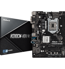 Asrock Asrock H310CM-HDV Intel Motherboard 9th Gen DDR4