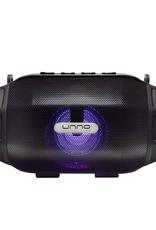 UNNO UNNO Tekno Pulse Wireless Speakers USB AUX FM Radio SD Card LED