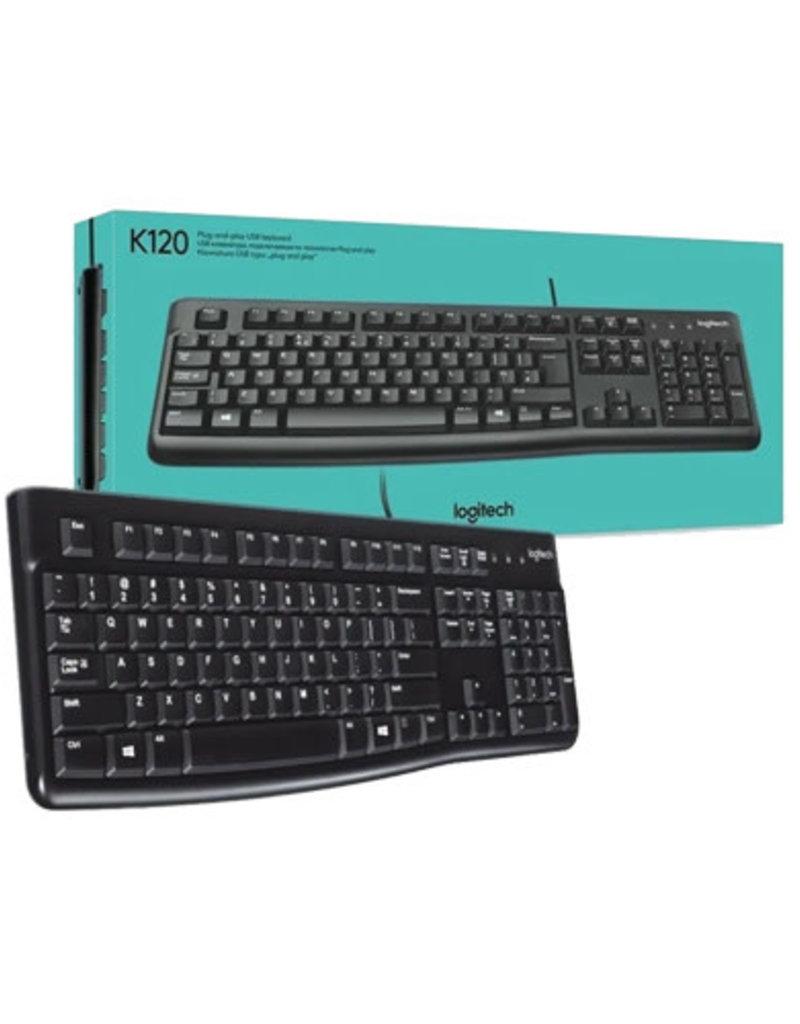 Logitech Logitech K120 Ergonomic USB Keyboard English