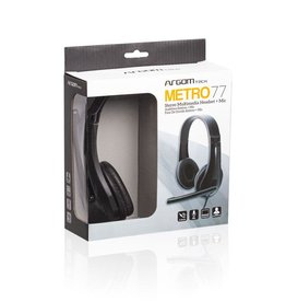 Argom Argom Metro 77 Stereo Headset with Mic. 3.5mm ARG-HS-0077