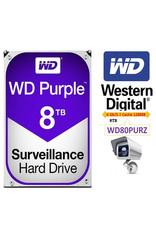 "WD WD Purple 8TB 3.5"" SATA3 7200RPM CCTV WD82PURZ"