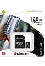 Kingston Kingston 128GB microSDHC Class 10 100MB/s SDCS2/128GB