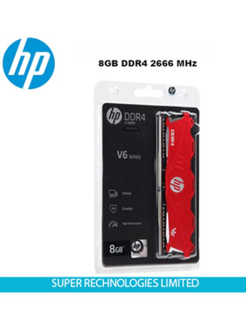 HP HP 8GB DDR4 V6 Red Heatsink 2666Mhz CL18 7EH61AA#ABM
