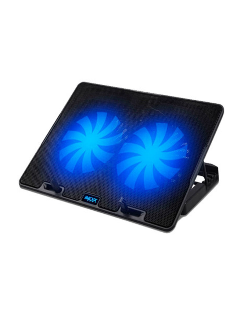 IMEXX IMEXX Laptop Cooling Pad 2 Large Fans Adjustable IME-26275