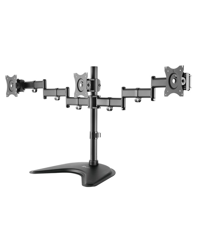 "Klip Klipx Adjustable Bracket Triple Monitor Mount 13""-27"" KPM-321"