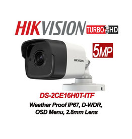 Hikvision Hikvision 5MP TVI Bulet Camera DS-2CE16H0T-ITF 2.8mm