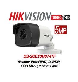 Hikvision Hikvision 5MP TVI Bulet Camera DS-2CE16H0T-ITF 2.8mm