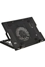 Agiler Agiler Multiviewing Angles Laptop Cooling Pad with 130MM LED Fan Plus 2 USB HUB AGI-8868