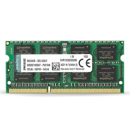 Kingston Kingston 8GB DDR3 SODIMM 1333Mhz KVR1333D3S9/8G