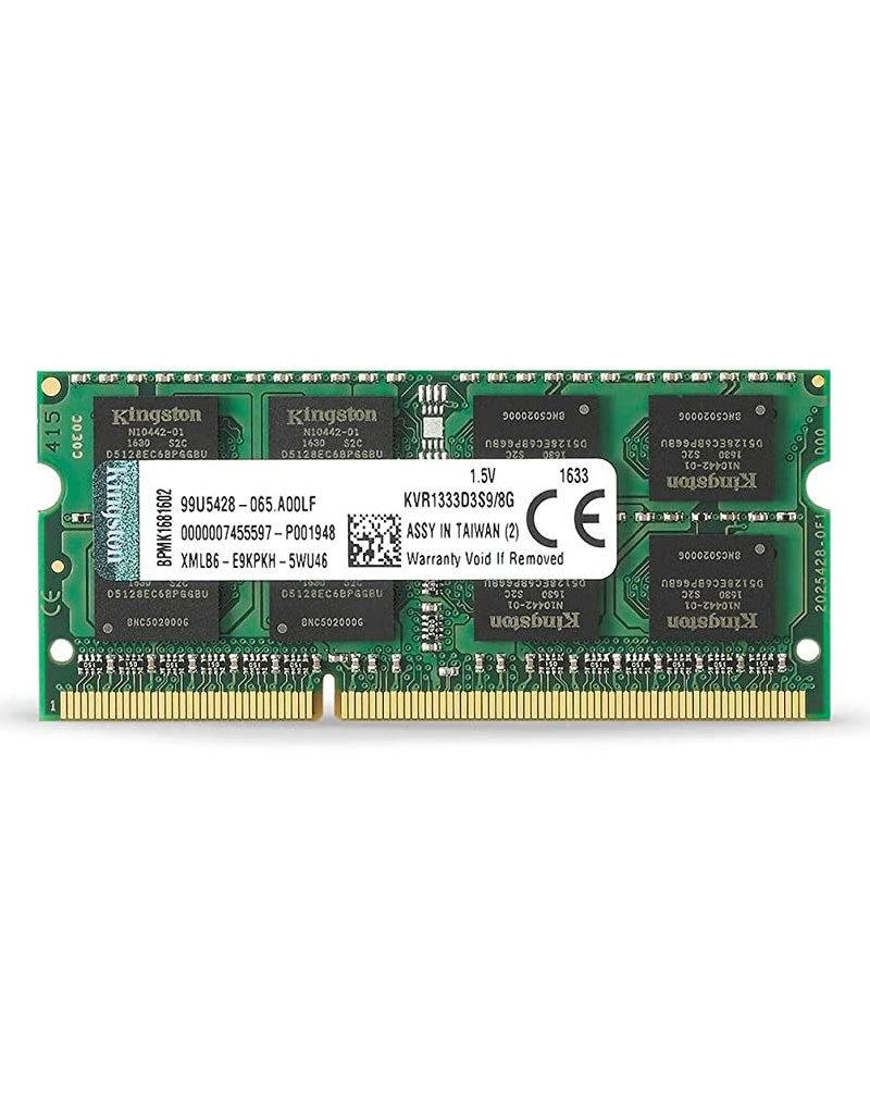 Kingston Kingston 8GB DDR3 SODIMM 1333Mhz KVR1333D3S9/8G
