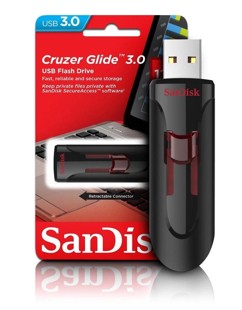 Sandisk Sandisk 128GB Flash Drive Cruzer Glide  3.0 SDCZ600-128G-G35