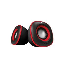 Xtech Xtech 2.0 USB Multimedia Speaker Spekter XTS-115RD