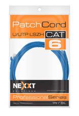 Nexxt Nexxt Cat 6 Patch Cable 3ft Blue Professional Series