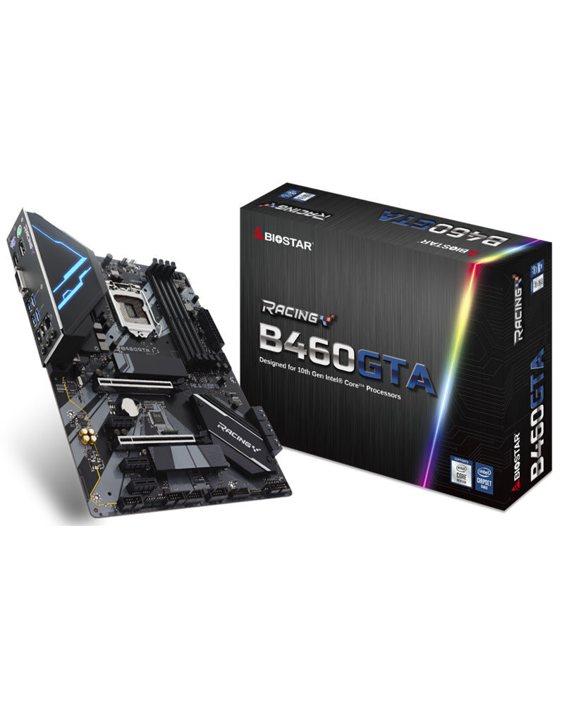 Biostar Biostar Intel B460GTA 10th Gen Motherboard 4xDDR