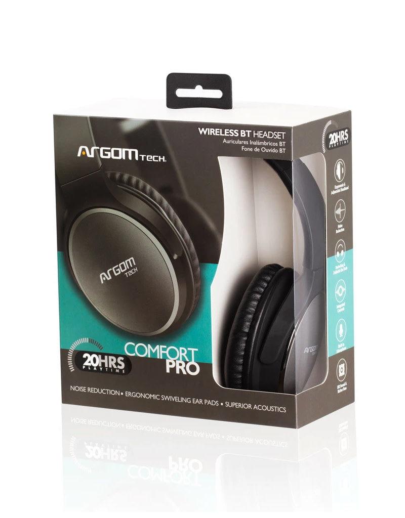 Argom Argom Ultimate Sound Comfort Pro BT Headset ARG-HS-2680BK