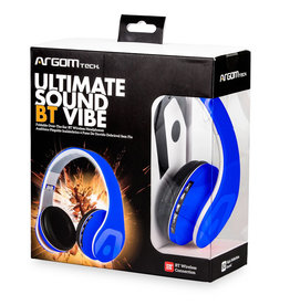 Argom Argom Ultimate Sound BT Vibe Bluetooth Headset Blue ARG-HS-2552BL