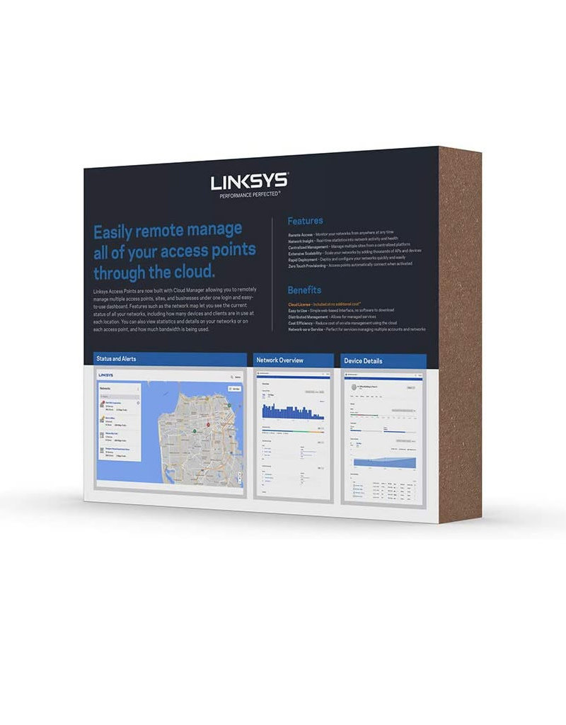 Linksys Linksys AC1750 Business Dual Band Cloud Access Point LAPAC1750C