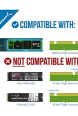 Sabrent Sabrent M.2 SSD to USB 3.0 External Enclosure EC-M2MC