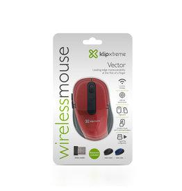 Klip Klip Wireless Mouse Vector KMW-330RD