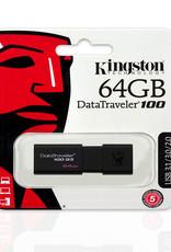 Kingston Kingston 64GB Flash Drive USB 3.1 DT100G3/64GB
