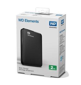 WD WD Elements 2TB USB 3.0 External Hard Drive WDBU6Y0020BBK