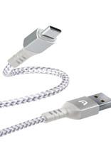 Argom ARGOM Dura Form Type C USB Cable Braided 6ft  ARG-CB-0025WT