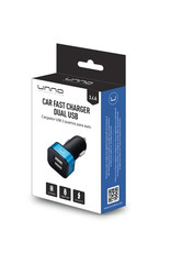 UNNO UNNO Tekno Fast Car Charger 3.4A  Dual USB PW5021BK