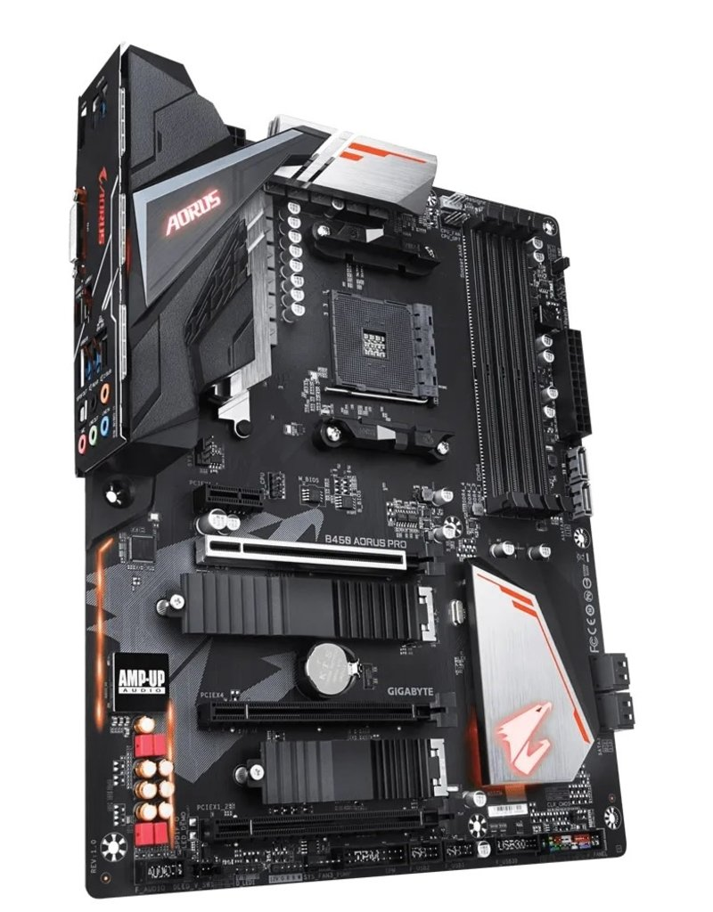 Gigabyte Gigabyte Aorus B450 AORUS M AM4 Motherboard AMD Ryzen Ready