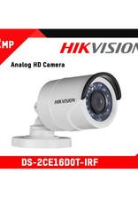 Hikvision Hikvision DS-2CE16D0T-IRF 2MP 1080P Bullet Camera 2.8mm