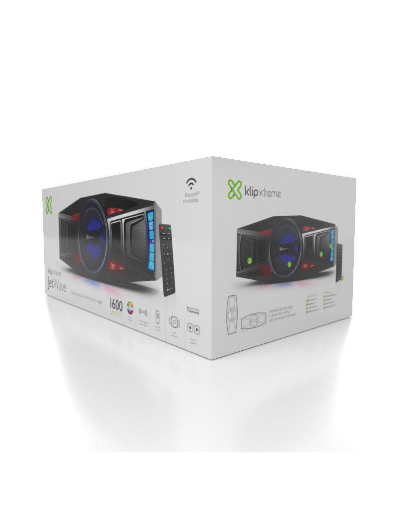 Klipx KilpxX Wireless Black Speakers JetWave KWS-710