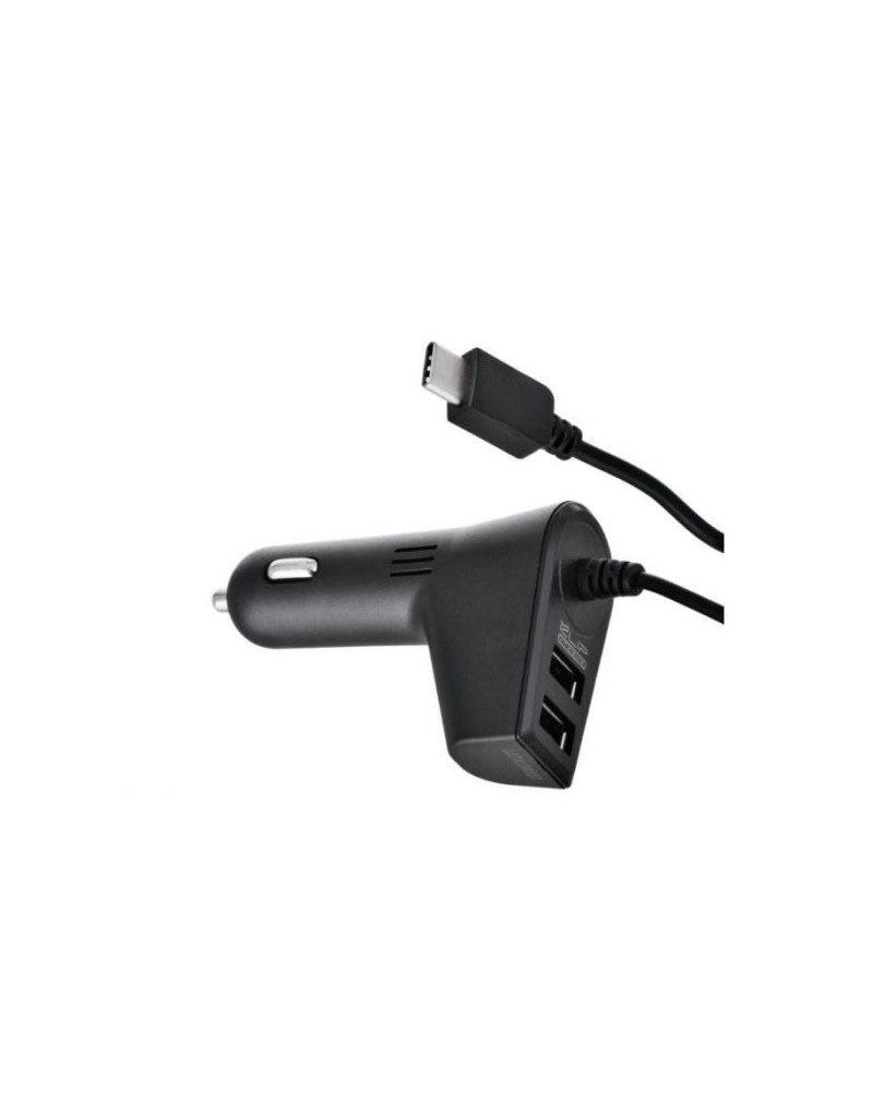 Klipx KlipX Car Charger 2 USB + USB-C KMA-111 1 Month Warranty