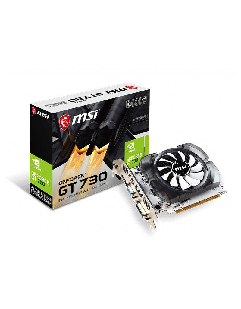MSI MSI VGA GeForce GT730 2G DDR3 HDMI + DVI + VGA N730-2GD3V3