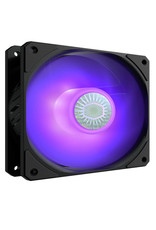 Cooler Master Cooler Master SickleFlow 120 V2 RGB 120mm Square Frame Fan with Customizable LEDs, AirBalance Curve Blade Design, Sealed Bearing, PWM Control for Computer Case & Liquid Radiator