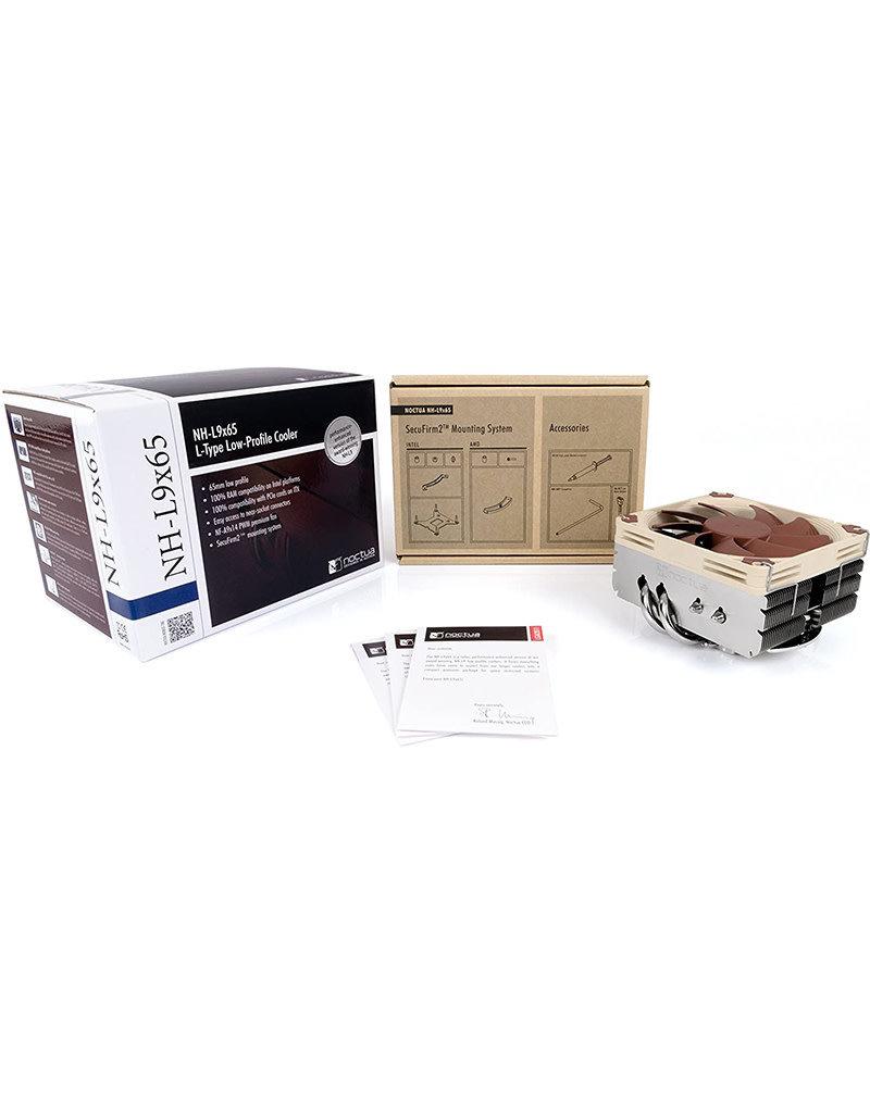 Noctua Noctua NH-L9x65, Premium Low-Profile CPU Cooler (65mm, Brown)