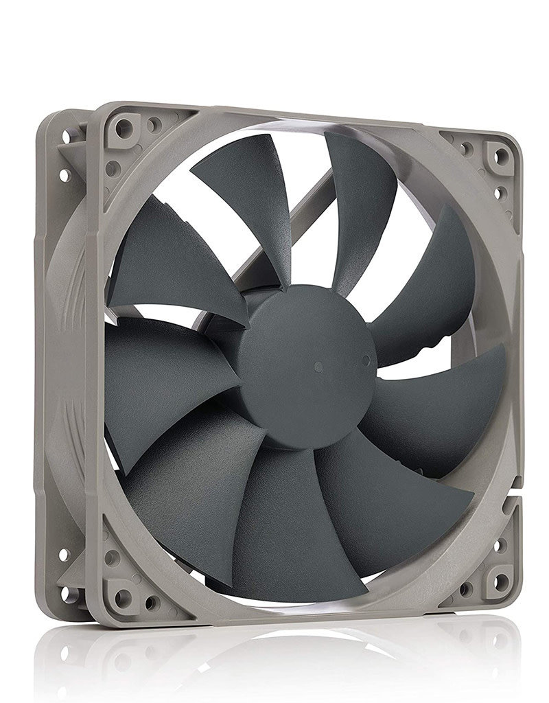 Noctua Noctua NF-P12 redux-1300 PWM, Quiet Fan, 4-Pin, 1300 RPM (120mm, Grey)