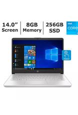 "HP HP 14-DQ2038 Core™ i3-1135G4 2.2GHz 256GB SSD 8GB 14"" (1366x768) TOUCHSCREEN BT WIN10 S Webcam SILVER. 1 Year Warranty Laptop"
