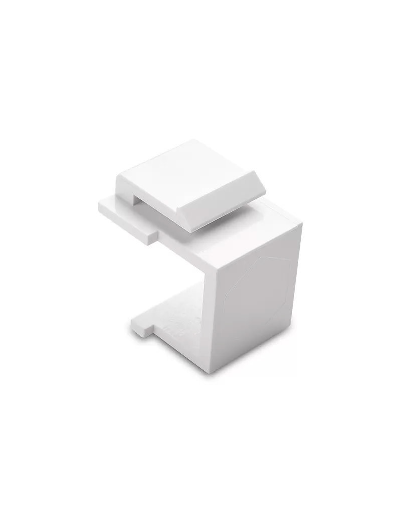 Blank RJ45 Insert for Surface mount Box White BC-BI