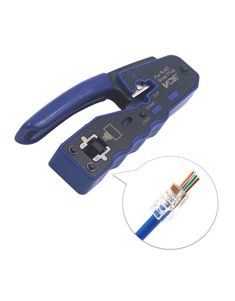 Crimping Tool RJ45 for Pass Through Plug BC-PTCT