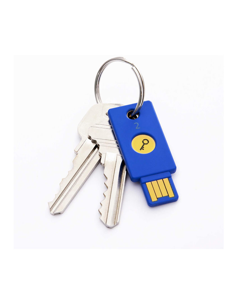 Yubico Security Key - Two Factor Authentication USB Security Key, Fits USB-A Ports - Protect Your Online Accounts with More Than a Password, FIDO Certified USB Password Key